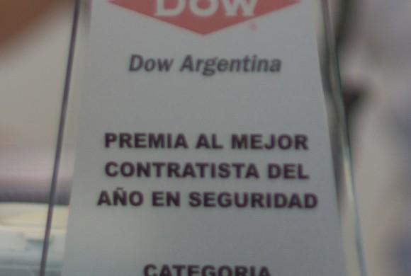 Contratista del año 2015 – DOW Argentina